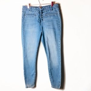 NWOT Amuse Society Tie Front Jeans Size 30